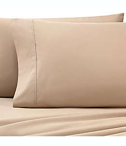 Heartland® HomeGrown™ Funda para almohada king de algodón percal de 325 hilos en café pardo
