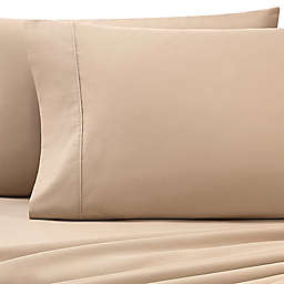Heartland® HomeGrown™ 325-Thread-Count Cotton Percale Standard Pillowcase in Taupe