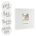 Pearhead Baby's Memory Book and Sticker Set