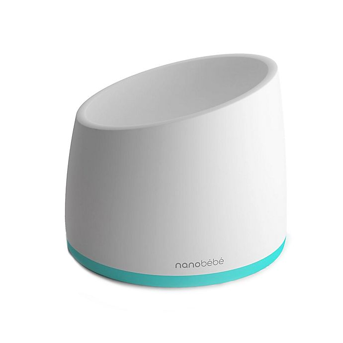 Alternate image 1 for Nanobebe Smart Warming Bowl in Teal