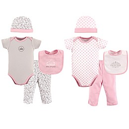 Hudson Baby® 8-Piece Princess Layette Set in Pink