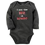 carter's® Newborn  I Put the Me in Romeo  Bodysuit in Grey