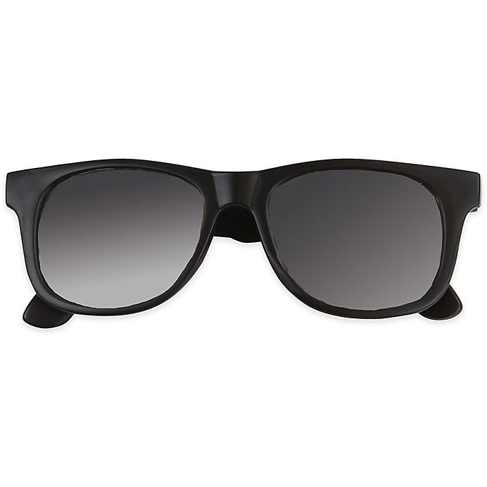 Alternate image 1 for Tiny Treasures Toddler Sunglasses in Black
