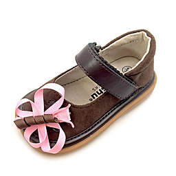 Mooshu™ Trainers Harlow Butterfly Mary Jane in Chocolate