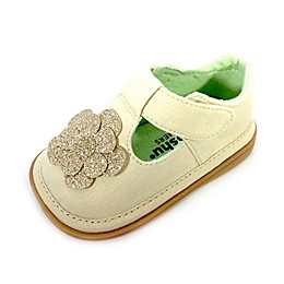 Mooshu Trainers Evie T-Strap Sandal in Natural