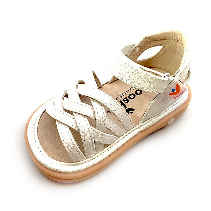 Alternate image 1 for Mooshu Trainers Size 9 Trudy Sandal in White