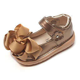 Mooshu Trainers Ready Set Bow Mary Jane Shoe in Bronze