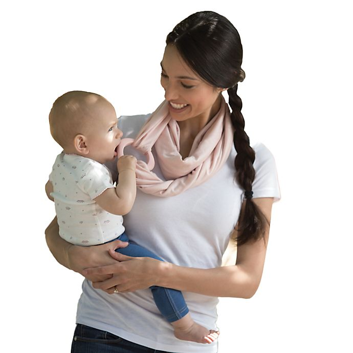 Alternate image 1 for Boppy™ Teething Scarf in Blush