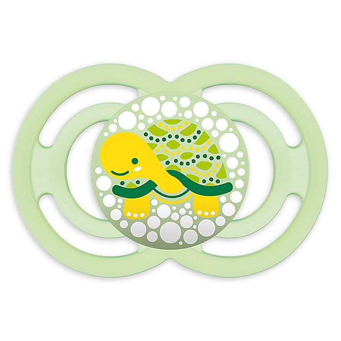 Alternate image 1 for MAM Perfect Orthodontic Size 6+ Months Pacifier in Green