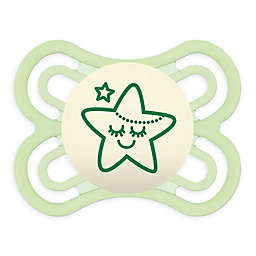 MAM Orthodontic Perfect Night Glow Size 0-6M Pacifier in Green