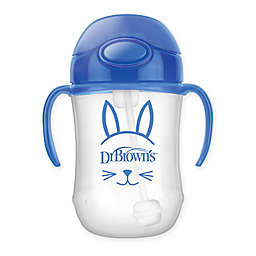 Dr. Brown's Baby's 9 oz.  First Straw Cup in Blue