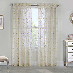 Grandeur Rod Pocket Window Curtain Panel