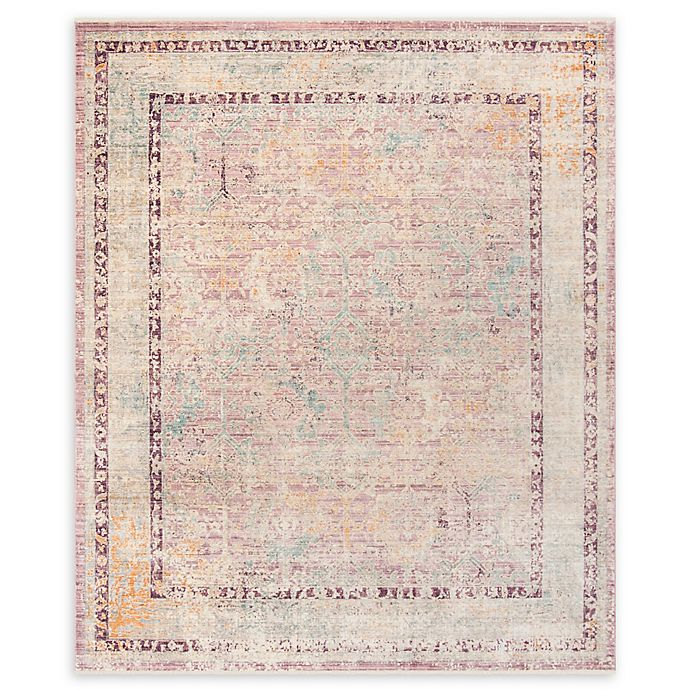 Alternate image 1 for Safavieh Illusion 8' x 10' Chauray Rug in Rose