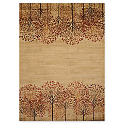 United Weavers Affinity Tree Blossom Rug in Natural
