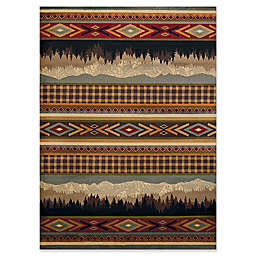 United Weavers Affinity Spring Mountain 1'11 x 7'2 Multicolor Runner