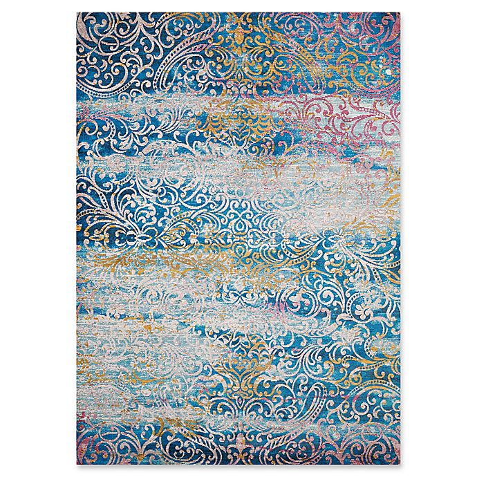 Alternate image 1 for United Weavers Rhapsody Midlothian Tufted 2' x 4' Accent Rug in Cyan