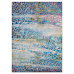 United Weavers Rhapsody Midlothian Tufted Accent Rug in Cyan