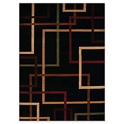 United Weavers Contours City Walk Tufted Rug in Onyx