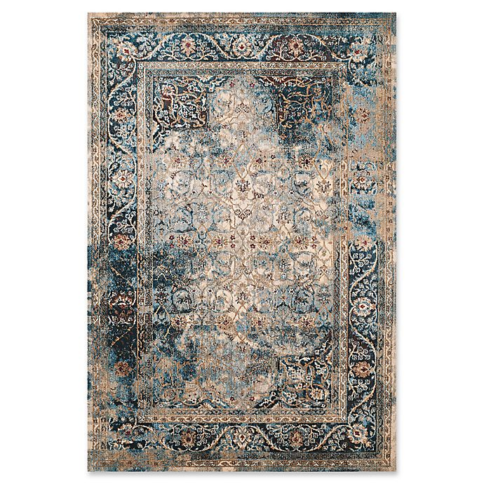 Alternate image 1 for United Weavers Jules Camelot Tufted 2' x 4' Accent Rug in Cerulean