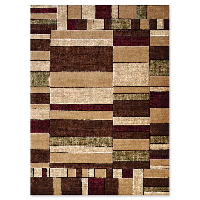 Alternate image 1 for United Weavers Contours Echelon Tufted Accent Rug in Multi