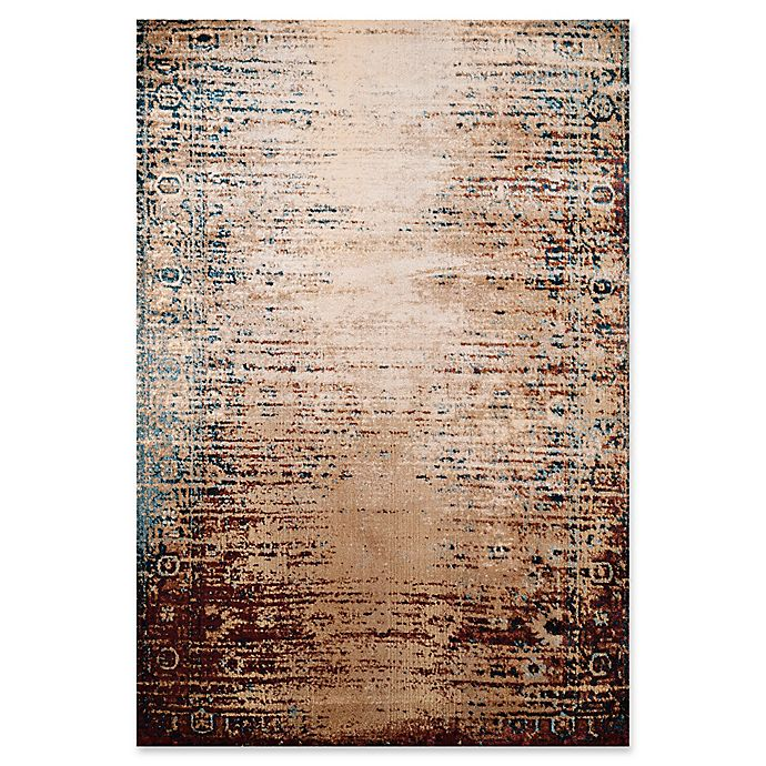 Alternate image 1 for United Weavers Jules Radical Tufted 5' x 8' Area Rug in Wine