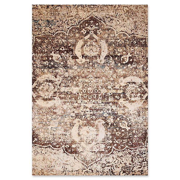 Alternate image 1 for United Weavers Jules Imperial 1'10 x 3' Accent Rug in Brown