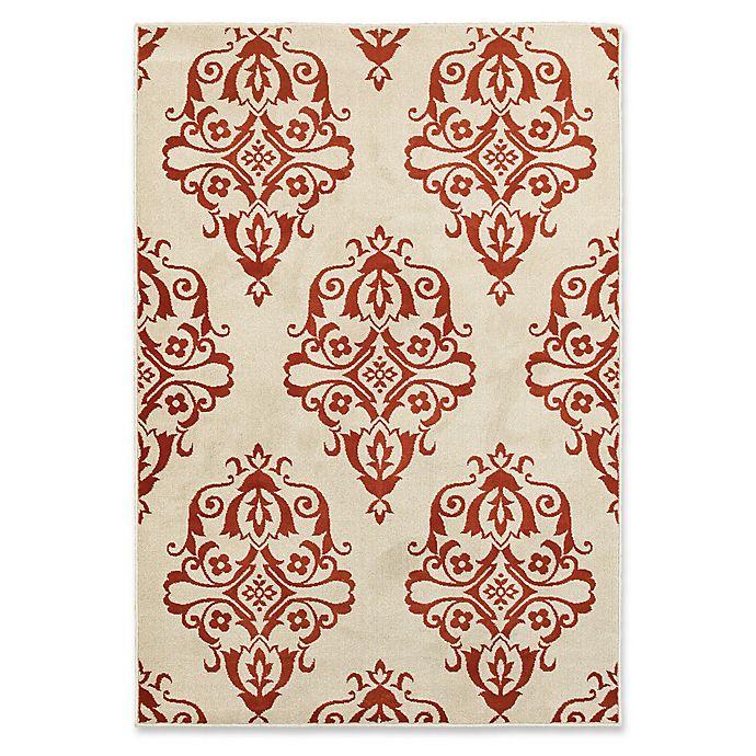 Alternate image 1 for Oriental Weavers Jayden 7-Foot 10-Inch x 10-Foot 10-Inch Area Rug in Rust/Ivory