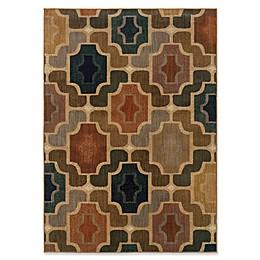 Oriental Weavers Kasbah Geometric Multicolor Rug