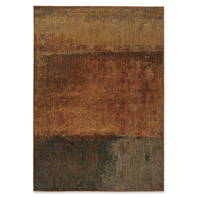 Alternate image 1 for Oriental Weavers Kasbah Stripes 7'8 x 10'10 Area Rug in Orange