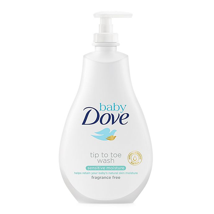 Alternate image 1 for Baby Dove 20 oz. Tip to Toe Wash in Sensitive Moisture
