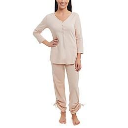 Copper Fit® Women's Henley Button Front Sleep Shirt