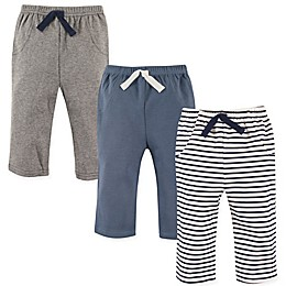 Hudson Baby® 3-Pack Pants in Blue