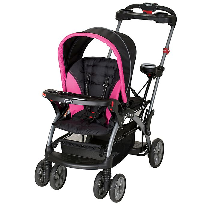 Millennium Pink Baby Trend Double Sit N Stand Stroller