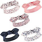 Hudson Baby® Size 0-24M 5-Pack Prairie Flowers Headbands