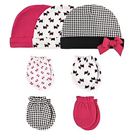 Hudson Baby® 7-Piece Dogs Cap and Mitten Set