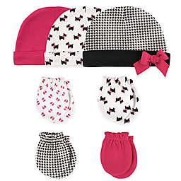 Hudson Baby® 7-Piece Dogs Cap and Mitten Set