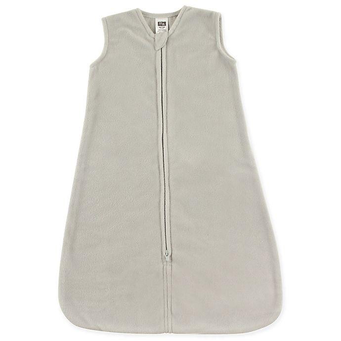 Alternate image 1 for Hudson Baby® Size 12-18M Fleece Sleeping Bag in Grey