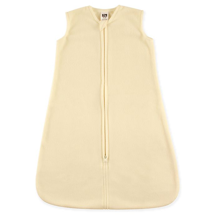 Alternate image 1 for Hudson Baby® Fleece Sleeping Bag in Cream