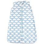 Hudson Baby® Size 0-6M Plush Sleeping Bag in Sky Blue