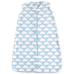 Hudson Baby® Plush Sleeping Bag in Sky Blue
