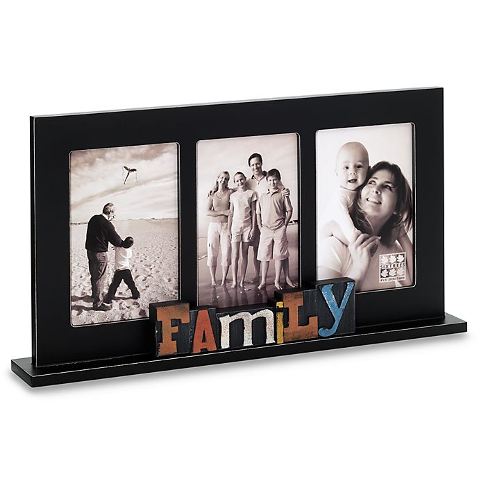 Sixtrees Family Free Standing Collage Frame Bed Bath Beyond