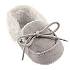 Luvable Friends® Size 6-12M Cozy Moccasin Slipper in Grey
