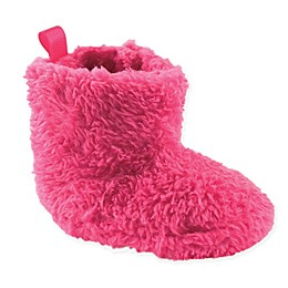 Luvable Friends® Sherpa Boot in Dark Pink