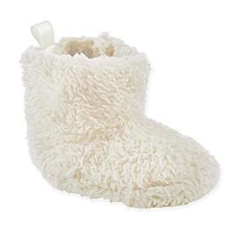 Luvable Friends® Sherpa Bootie in Cream