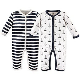 Hudson Baby® 2-Pack Sailboats Union Suits