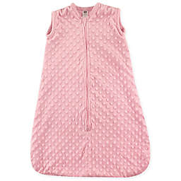 Hudson Baby® Dotted Plush Sleeping Bag in Pink