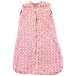 Hudson Baby® Dotted Plush Sleeping Bag in Pink