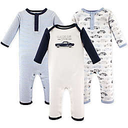 Hudson Baby® 3-Pack Cars Union Suits