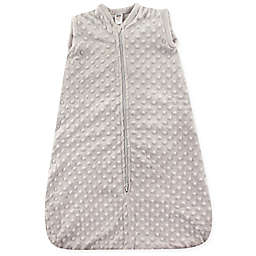 Hudson Baby® Dotted Plush Sleeping Bag in Grey