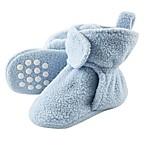 Luvable Friends® Size 2T Scooties Fleece Booties in Light Blue